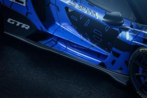 McLaren Senna GTR Ultimate Series Rennwagen Neuheit
