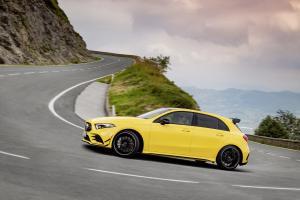 Mercedes-AMG A 35 Neuheit Pariser Autosalon Topmodell Kompaktsportler