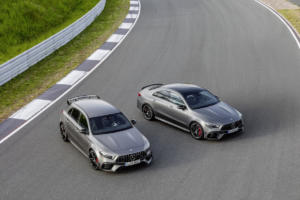 Mercedes-AMG A 45 S 4MATIC+ und CLA 45 S 4MATIC+ Kompaktklasse Topmodell Neuheit