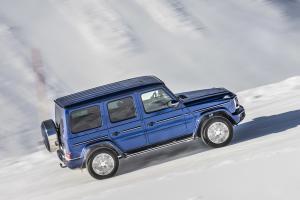 Mercedes-Benz G 350 d G-Klasse Geländewagen Allradler Neuheit Diesel Brilliantblau metallic