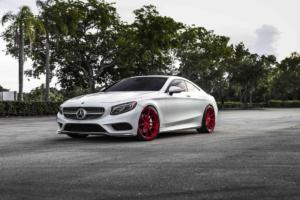 Mercedes-Benz C217 S 550 4MATIC Coupé von Vossen Wheels
