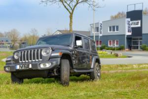 Jeep Wrangler JL-Abgasanlage von der NAP Sportauspuff Manufaktur
