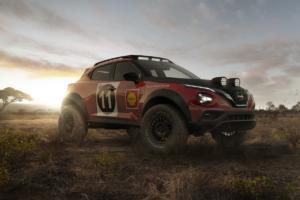 Nissan Juke Rally Tribute Concept SUV Offroader Rallye-Rennwagen