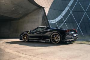 Novitec Ferrari F8 Spider Tuning Leistungssteigerung Carbon-Bodykit Felgen Abgasanlage Tieferlegung Fahrwerk Innenraum Veredlung