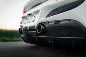 Novitec Ferrari F8 Tributo Mittelmotor-Coupé Sportwagen Tuning Leistungssteigerung Abgasanlage Felgen