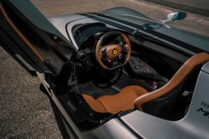 Novitec Ferrari Monza SP1 Roadster Barchetta Sondermodell Leistungssteigerung Abgasanlage Tieferlegung Felgen
