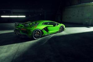Novitec Lamborghini Aventador SVJ Supersportwagen Tuning Aerodynamik Karosserieteile Carbon Abgasanlage Interieur