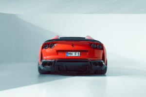 Novitec Tuning Ferrari 812 GTS Supersportwagen Carbon Aerodynamikteile Felgen Leistungssteigerung Abgasanlage Tieferlegung Innenraum Veredelung
