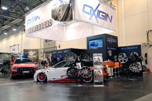 Oxigin Essen Motor Show 2018 Messestand Audi Q8 A4 Avant Felgen Tuning