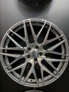 Oxigin Leichtmetallfelgen Essen Motor Show 2019 Neuheiten OX25 Oxcross hyper silver polish