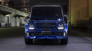 Mercedes G63 Wald Breitbau
