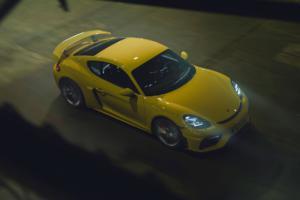 Porsche 718 Cayman GT4 Mittelmotor-Sportwagen Coupé Topmodell Neuheit