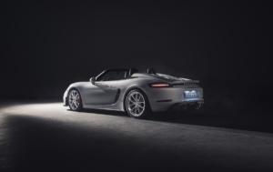 Porsche 718 Spyder Mittelmotor-Sportwagen Roadster Topmodell Neuheit