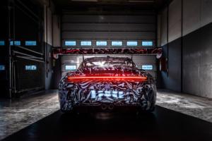 Porsche 911 GT3 Cup 992 Neuheit Rennwagen Markenpokal Kundensport Erprobungsfahrt Nürburgring