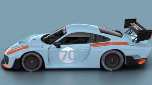 Porsche 935 2019 Lackierung Gulf