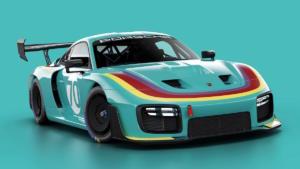 Porsche 935 2019 Lackierung Vaillant