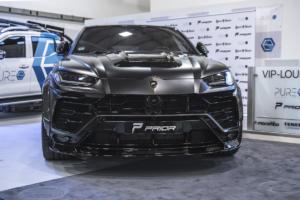 Prior-Design Lamborghini Urus Widebody Breitbau Aerodynamik-Kit Roberto Geissini Premiere Essen Motor Show 2019 Tuning