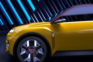 Renault 5 Prototype 2021 Neuheit Studie Elektroauto Retro Ausblick Kleinwagen