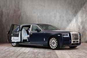Rolls-Royce Rose Phantom Individualisierung Million Stiches Luxuslimousine