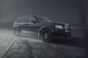 SPOFEC Tuning Rolls-Royce Black Badge Cullinan Breitbau Bodykit Widebody Felgen Schmiederäder Tieferlegung Leistungssteigerung Abgasanlage Innenraum