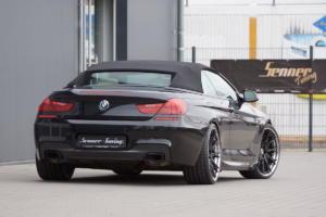 Senner Tuning BMW F12 640i Cabrio 6er Tuning Leistungssteigerung Fahrwerk Felgen