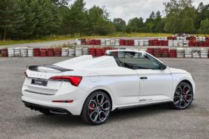 Skoda Slavia Speedster Einzelstück Azubi Car Neuheit Vorstellung Scala