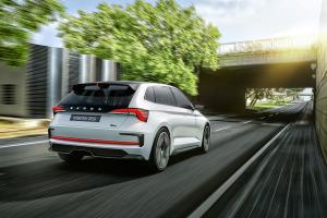 Skoda Vision RS Studie Concept Car Plug-in-Hybrid Pariser Autosalon Mondial de l'Automobile