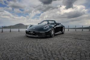 Techart Porsche 911 992 Tuning Veredlung Abgasanlage Endrohr Leistungssteigerung