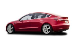 Tesla Model3 rot Trina argento