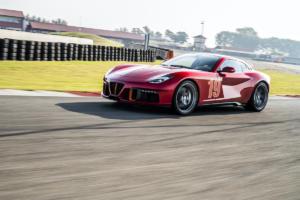 Touring Superleggera Aero 3 Neuheit Vorstellung Premiere Kleinstserie Coachbuilt Retro Sportwagen Italien Ferrari F12 Berlinetta