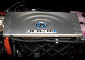 Toyota Tundra Pie Pro Pick-up MTCI Brennstoffzelle Wasserstoff Pizza Hut Roboter SEMA Show 2018 Las Vegas