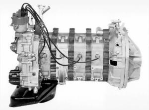 Mercedes-Benz C 111-II-Vierscheiben-Wankelmotor