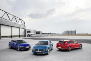 VW Arteon Facelift Neuheit Viertürer-Coupé Shooting Brake Vorstellung R Topmodell eHybrid