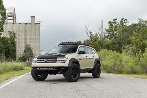 VW Atlas SEMA concept Tanner Foust