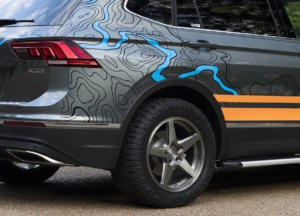 VW Enthusiast Fleet SOWO The European Experience USA Tiguan Adventure Concept