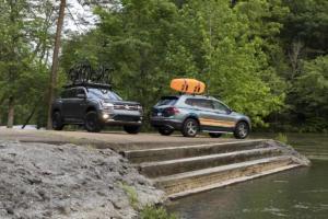 VW Enthusiast Fleet SOWO The European Experience USA Tiguan Adventure Concept Atlas Basecamp Concept