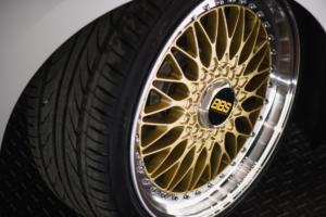 VW Golf 8 GTI BBS Concept Enthusiast Fleet Tuning VW of America Jamie Orr Felgen Räder Tieferlegung Abgasanlage