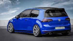 VW Golf GTI Clubsport S Barracuda Racing Wheels Tzunamee EVO Kompaktklasse Hot Hatch Tuning Felgen Räder Tieferlegung