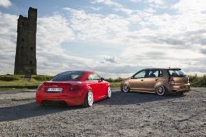 VW Polo 9N3 Audi TT 8N Tuning Airride Duo Felgen
