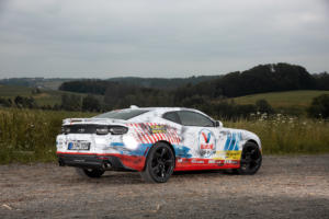 Valvoline Chevrolet Camaro SS US-Car Coupé V8 Muscle Car Folierung NAP-Abgasanlage