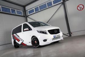 Vansports.de Mercedes-Benz W447 Vito 119 CD Mixto VP Spirit Tuning Aerodynamik Felgen Hartmann white SportsVan