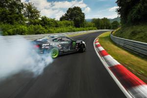 Vaughn Gittin Jr. Drift Nürburgring Nordschleife Ford Mustang RTR