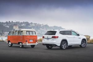 Volkswagen of America 70 Jahre VW in den USA Jubiläum T1 Samba Bus Atlas