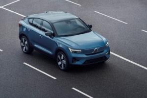 Volvo C40 Recharge Neuheit Premiere Vorstellung SUV-Coupé Elektroauto