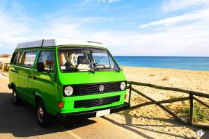 Yescapa Carsharing Vermietung Urlaub im VW Bulli Luca Sardinien