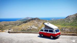 Yescapa Carsharing Vermietung Urlaub im VW Bulli Mateo Mallorca