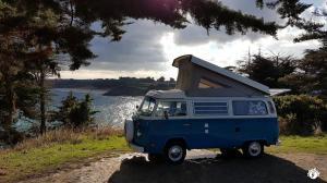 Yescapa Carsharing Vermietung Urlaub im VW Bulli Patrice Frankreich
