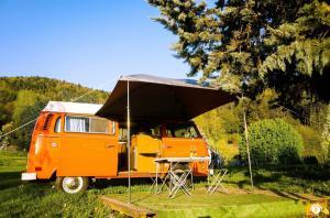 Yescapa Carsharing Vermietung Urlaub im VW Bulli Paul Grenoble
