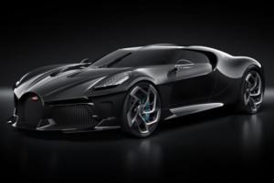 """Bugatti-Unikat """"La Voiture Noire"""" in Genf vorgestellt!"""