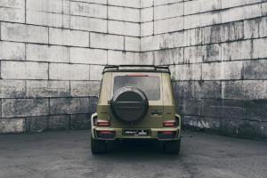 fostla.de Brabus 700 Tuning Mercedes-AMG G 63 W463a Bodykit Leistungssteigerung Felgen